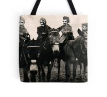 The Family of Masks Tote Bag