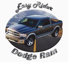 Dodge Ram Truck Easy Rider Kids Tee