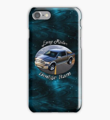 Dodge Ram Truck Easy Rider iPhone Case/Skin