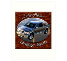 Dodge Ram Truck Easy Rider Art Print