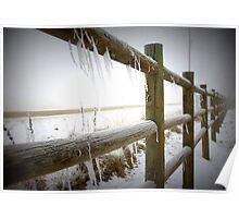 Freezing Fenceline Poster