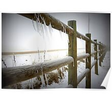Freezing Fenceline Poster