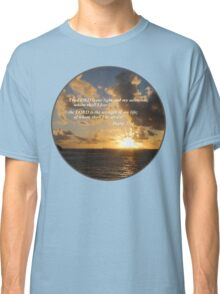 Psalm 27 1 The Lord Is My Light Classic T-Shirt