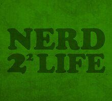 Nerd 4 Life Math Nerd Humor Pun Poster by scienceispun
