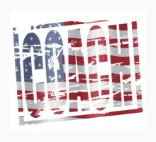 Coach Stars and stripes rubber stamp effect T-Shirt