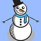 Snowman by Lauramazing