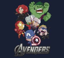 The Avenger Assemble! by gunyuloid