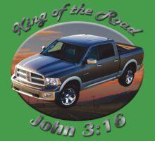 Dodge Ram Truck King of the Road Baby Tee