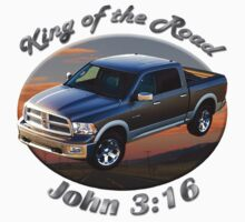 Dodge Ram Truck King of the Road by hotcarshirts