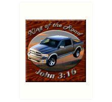 Dodge Ram Truck King of the Road Art Print