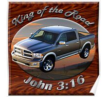 Dodge Ram Truck King of the Road Poster