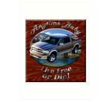 Dodge Ram Truck Anytime Baby Art Print