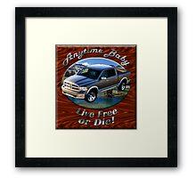 Dodge Ram Truck Anytime Baby Framed Print