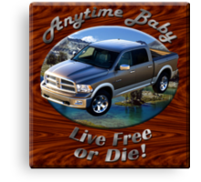 Dodge Ram Truck Anytime Baby Canvas Print