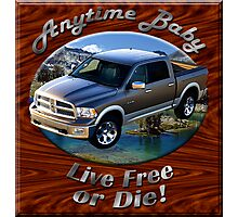 Dodge Ram Truck Anytime Baby Photographic Print
