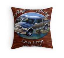 Dodge Ram Truck Anytime Baby Throw Pillow
