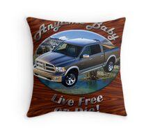 Dodge Ram Truck Anytime Baby Throw Pillow