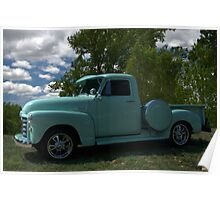 1952 GMC Pickup Truck Poster