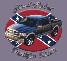 Dodge Ram Truck Road Rebel Kids Tee