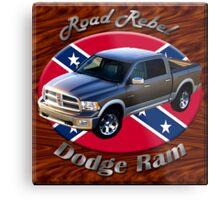 Dodge Ram Truck Road Rebel Metal Print