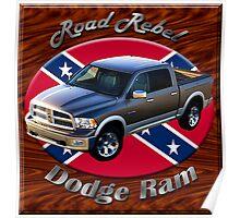 Dodge Ram Truck Road Rebel Poster