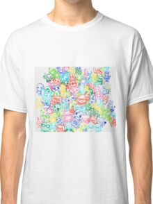 red blue yellow pink green  Classic T-Shirt