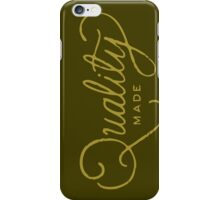 quality 2  iPhone Case/Skin