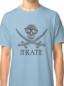Pirate Humor Math Number Pi Nerd Shirt Classic T-Shirt