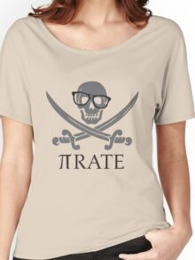 Pirate Humor Math Number Pi Nerd Shirt Women's Relaxed Fit T-Shirt