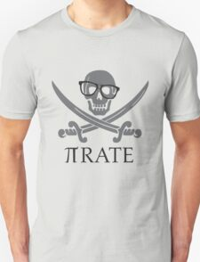 Pirate Humor Math Number Pi Nerd Shirt Unisex T-Shirt