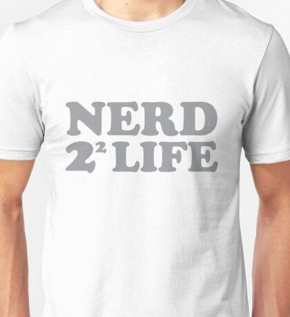 Nerd 4 Life Math Nerd Humor Pun Shirt Unisex T-Shirt