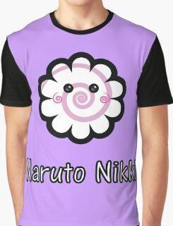 Kawaii Nightmarket Friends - Naruto Nikki Graphic T-Shirt