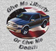 Dodge Ram Truck Give Me Liberty Baby Tee