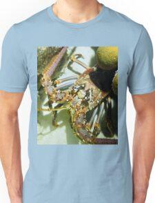 Caribbean Reef Lobster Close Up - Macro Head Photograph Unisex T-Shirt