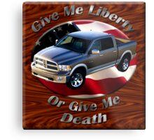 Dodge Ram Truck Give Me Liberty Metal Print