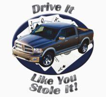 Dodge Ram Truck Drive It Like You Stole It Kids Tee