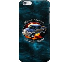 Dodge Ram Truck Road Warrior iPhone Case/Skin