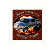 Dodge Ram Truck Road Warrior Art Print