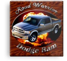Dodge Ram Truck Road Warrior Metal Print