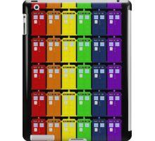 Rainbow Tardis' iPad Case/Skin