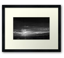 ©HCS Eternal Feedback IIIA Monochromatic Framed Print