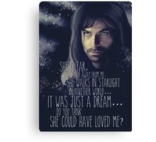Kili - The Hobbit the desolation of Smaug Canvas Print