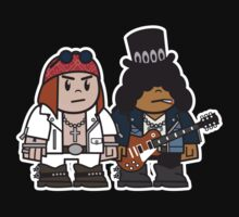 Mitesized Axl & Slash One Piece - Short Sleeve