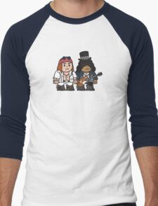 Mitesized Axl & Slash Men's Baseball ¾ T-Shirt