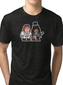 Mitesized Axl & Slash Tri-blend T-Shirt