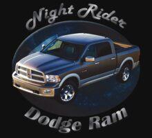 Dodge Ram Truck Night Rider One Piece - Short Sleeve