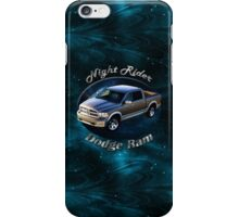 Dodge Ram Truck Night Rider iPhone Case/Skin