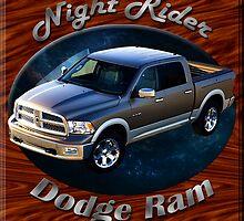 Dodge Ram Truck Night Rider by hotcarshirts