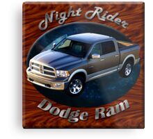 Dodge Ram Truck Night Rider Metal Print