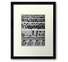 ©CS Cristal Cuba IA Monochromatic Framed Print